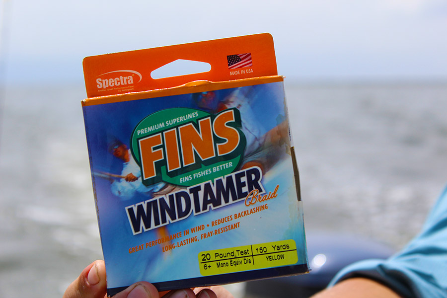 Fins Windtamer Fishing Line Review