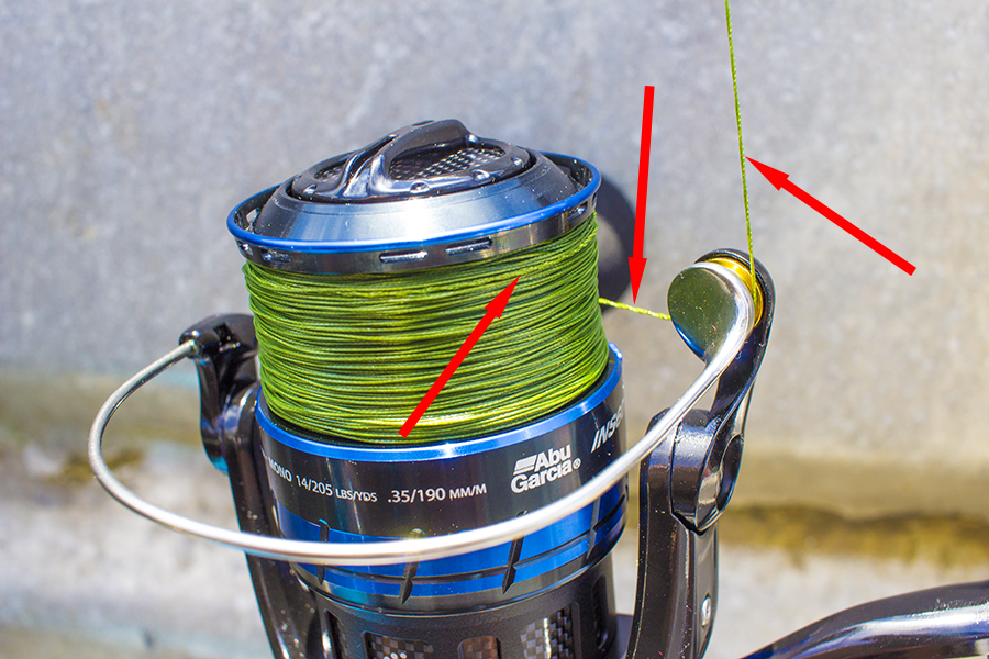 Remove Twist from Fishing Line untwist fishing line