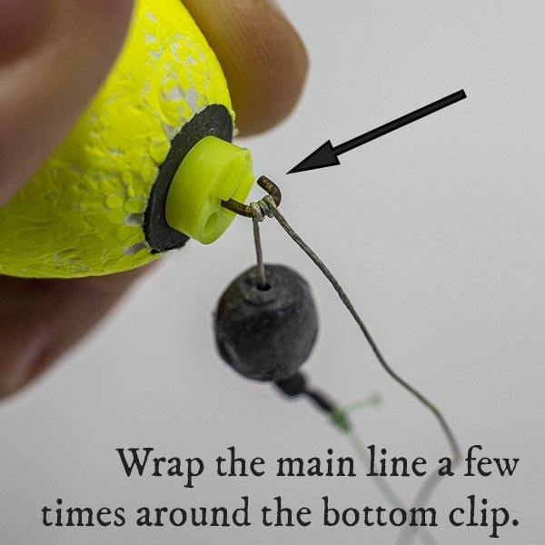 how to use a clip on cork for saltwater fishing